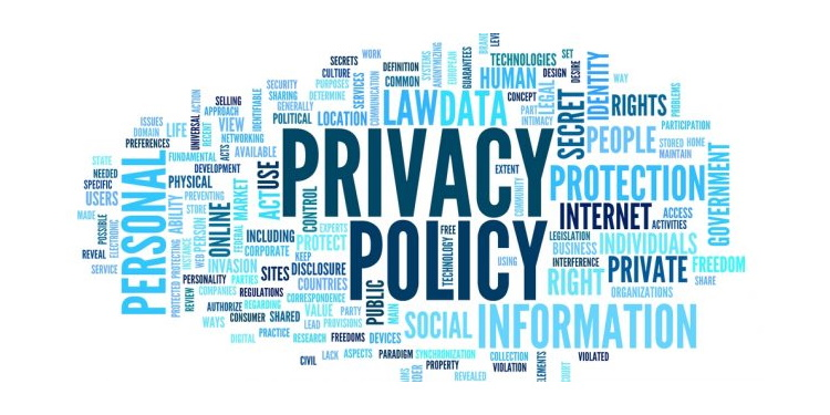 Privacy Policy Word Cloud